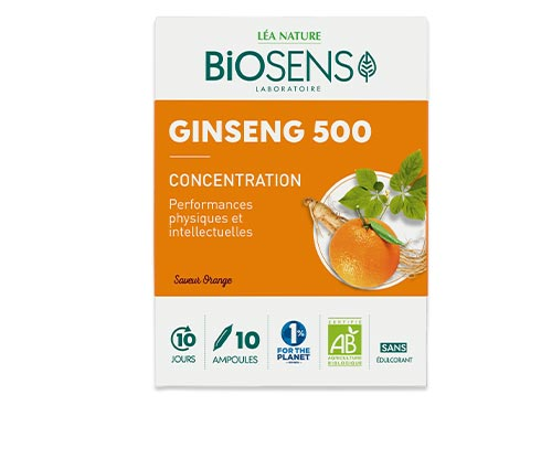 Ampoules Ginseng 500